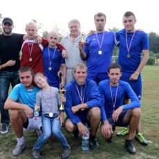 2-е место ФК «Заречье»
